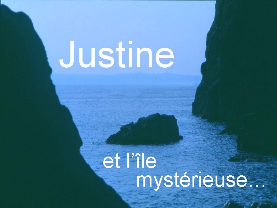 justine et l'ile mystérieuse