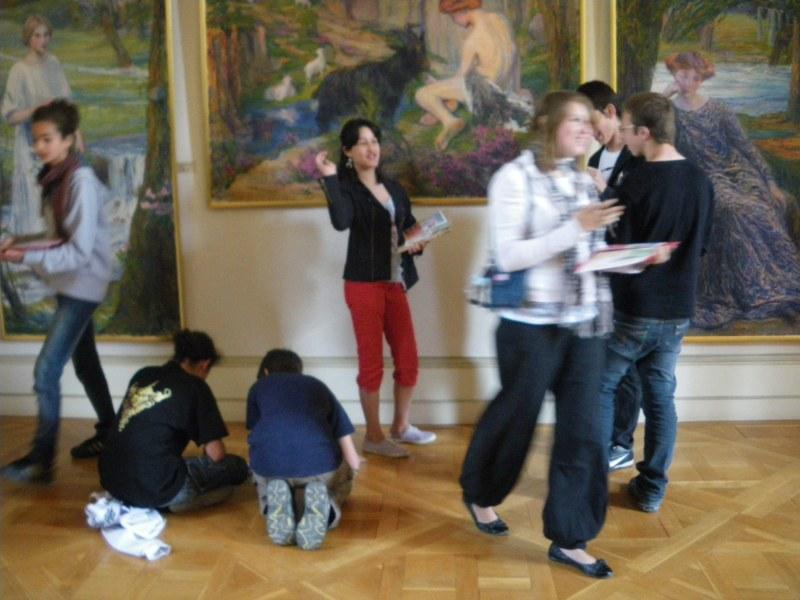 Séances de préparation pour la prestation Nuit des Musées - 2